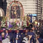 """Il presidente peruviano proclama il """"Cristo nero"""" patrono della nazione"""
