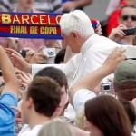 Comune di Barcellona: «la visita del Papa porta un fatturato di 30 milioni di euro»