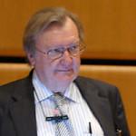 Il premio Nobel Carlo Rubbia all'inaugurazione dell'ateneo cattolico Lumsa
