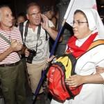 GMG 2011: foto e video della violenza atea contro i pellegrini cattolici