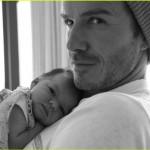 L'economo Grenham: «il quarto figlio di Beckham? Ottima notizia per il pianeta!»