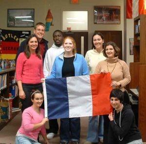 Studenti francesi