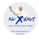 """""""Noi per Benedetto"""": iniziativa contro il pregiudizio anticattolico"""