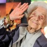 Rita Levi Montalcini e l'ammirazione per papa Benedetto XVI