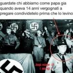 La foto del giovane Ratzinger con Hitler? Nuova bufala anticlericale