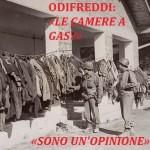 Odifreddi incompetente: «le camere a gas? Un'opinione»