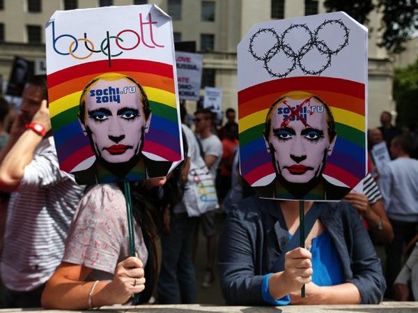Putin gay