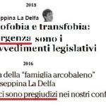 Ipocrisia LGBT: gli italiani a favore del ddl Cirinnà? Ma non erano omofobi?