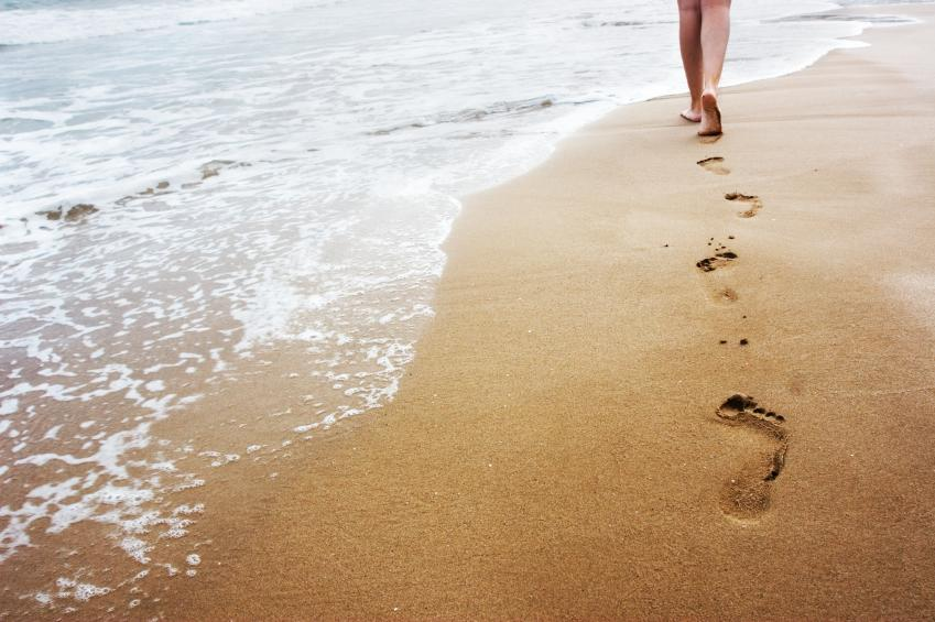 orme-sulla-spiaggia