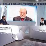 Unioni civili, Mario Adinolfi stravince contro un confuso Umberto Galimberti