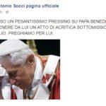 Benedetto XVI a Francesco: «Santo Padre, nella sua bontà mi sento protetto» (video)