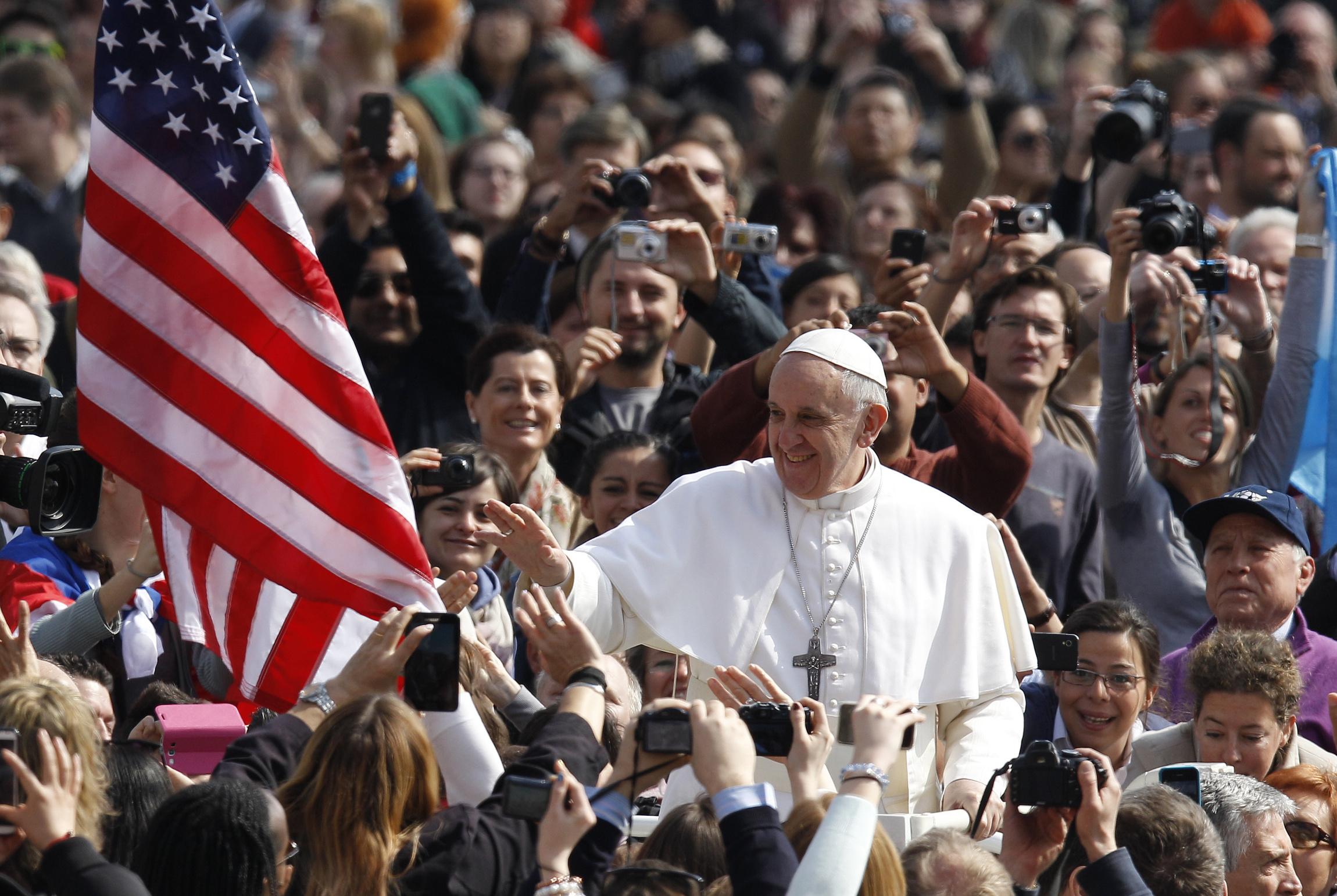 bergoglio sostenuto dai cattolici usa