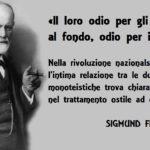 Per Sigmund Freud «l'odio nazista per gli ebrei è anche odio per i cristiani»