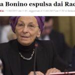 I quattro gatti Radicali diventano due, ma il Papa aveva teso un mano…
