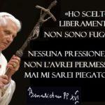 Il complotto sulle dimissioni di Ratzinger offende la sua dignità