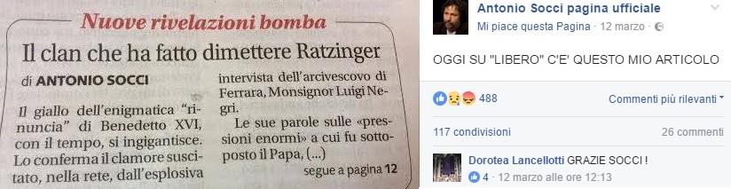 dimissioni ratzinger