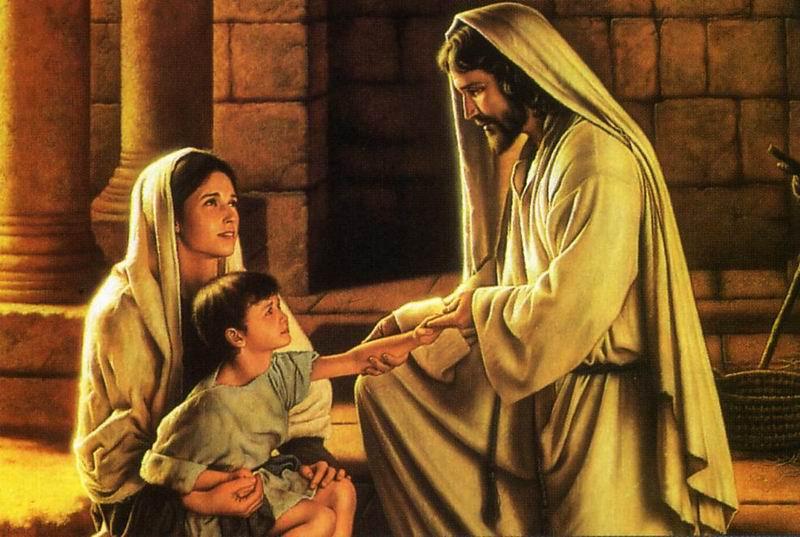 Gesù e un bambino