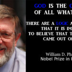 Nobel Prize W.D. Phillips and that God present «in my life and in the Universe»
