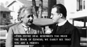 Msgr. Lemaître, father of the Big Bang: he changed the mind of Albert Einstein