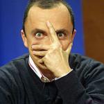 Ancora guai per il volgare clown Daniele Luttazzi