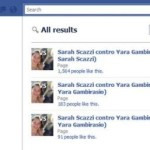 Oscurati i gruppi Facebook contro Yara Gambirasio creati da cyberbulli atei