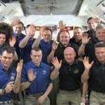 Gli astronauti: «che emozione parlare con Benedetto XVI!!»