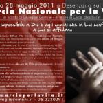 """Anche in Italia si organizza la """"marcia per la vita"""""""