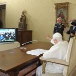 Ecco la traduzione del dialogo tra Benedetto XVI e gli astronauti