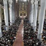 Dopo la visita del Papa la Sagrada Familia sfiora il record di visitatori