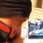 Ecco chi è il black bloc ateo che ha distrutto la statua della Madonna