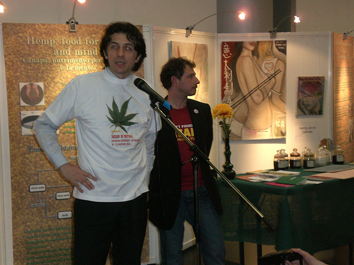 Marco Cappato promuove la marijuana