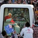 Il Papa non dovrà pagare una multa per la cintura di sicurezza