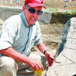 Il prof. D'Andria e il ritrovamento della tomba dell'apostolo Filippo