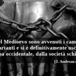 Cristianesimo e schiavitù: l'abolizione iniziò nel Medioevo