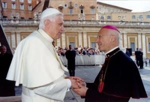 Card. Bagnasco con Benedetto XVI