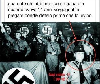 Bufala contro papa2