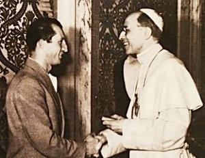 Gino Bartali e Pio XII