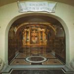 La tomba di San Pietro e le scoperte archeologiche