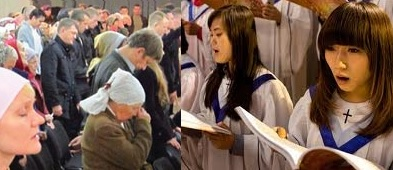 Cristiani russi e cinesi