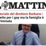 """""""Il Mattino"""" sta con la famiglia: «non esistono modelli alternativi»"""