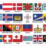 Un terzo delle bandiere del mondo contiene simboli religiosi