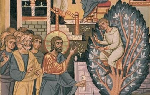 Gesù incontra Zaccheo