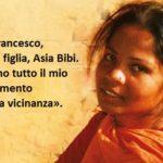 «Asia Bibi sente il sostegno di Papa Francesco», ha detto padre Cervellera (Pime)