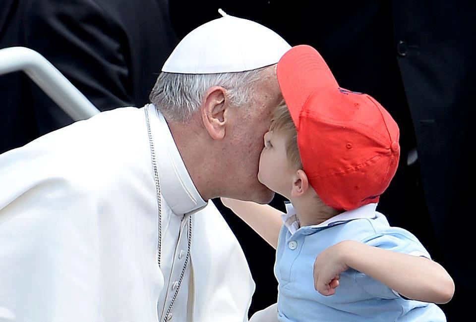 Papa francesco bambino