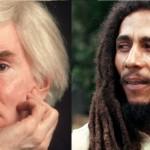 Bob Marley ed Andy Warhol, due talenti toccati dalla Luce della conversione