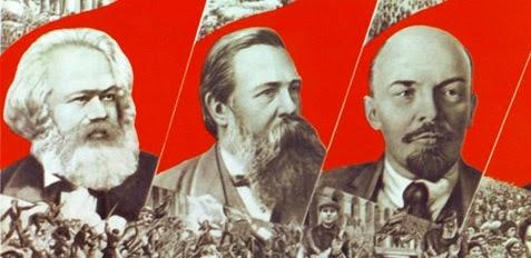 Marx, Engels & Lenin