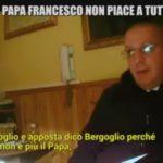 Don Minutella senza freni: «Bergoglio non è papa, ma massone satanista»
