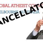 Sala deserta, annullato il Convegno internazionale Atei. Mai 'na gioia…