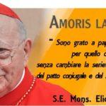 """Il card. Sgreccia, un """"eretico""""? «Le eccezioni di Amoris Laetitia in linea con Familiaris Consortio»"""