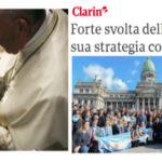 Giorno del voto: tranello al Papa e duro attacco dei vescovi argentini all'aborto